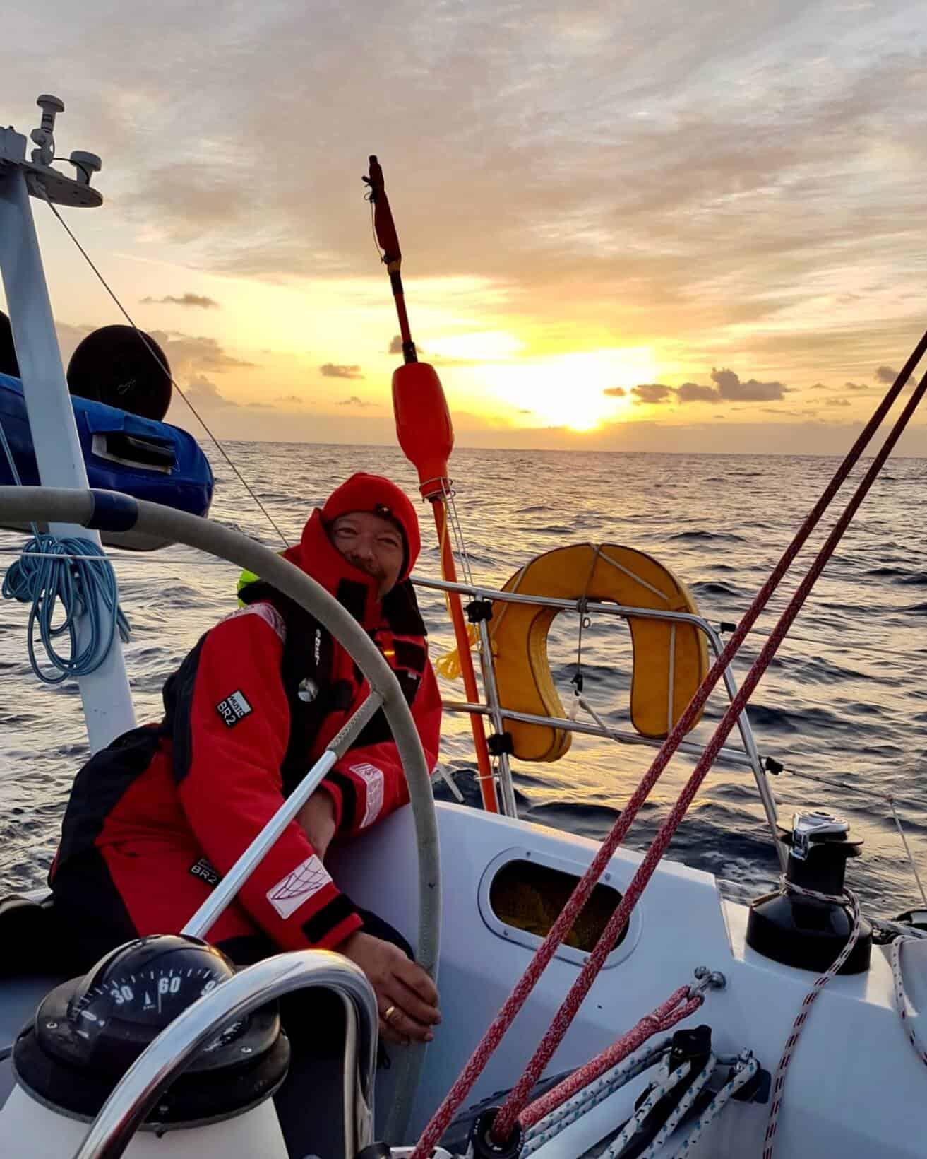 Bretagne-Sailing-Experience-Navigation en soirée