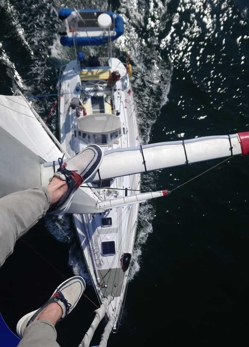 Bretagne-Sailing-Experience-Vue de haut!
